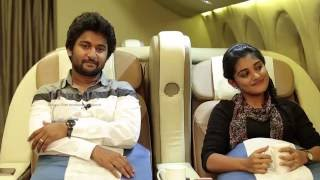 Gentleman Team Funny Interview In Flight | Nani | Surabhi | Niveda Thomas | TFPC - TFPC