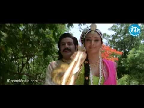 Tabu, Balakrishna, Sneha Nice Scene - Pandurangadu Movie
