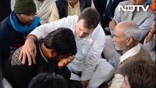 राहुल-प्रियंका गांधी ने शहीद के परिवार से की मुलाकात - NDTVINDIA