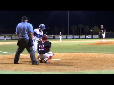 Weston Pertmer home run vs Terry Parker at District Tournament 4-22-14