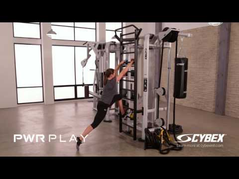 Cybex PWR PLAY - Stall Bar Reverse Lunge