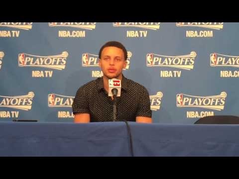 Stephen Curry on frustration with officiating