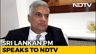 "Sri Lanka PM To NDTV: ""India Gave Us Intelligence, But There Were Lapses"" - NDTV"