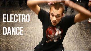 Уроки танца для начинающих: electro dance (ex тектоник). Обучение