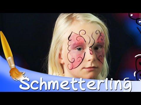 Kinderschminken - Schmetterling    Kinderlieder