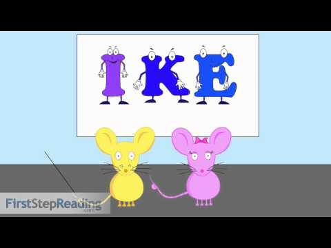 Long Vowel I Vowel Consonant Vowel, Beginning Readers Grammar Phonics Lesson