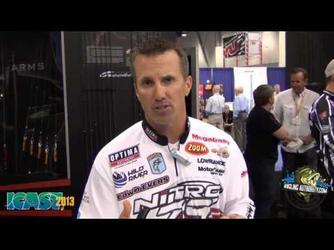ICAST 2013 New Products - Edwin Evers Introduces the Megabass Ito Shiner