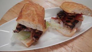 Cola Chicken Burger - SANJEEVKAPOORKHAZANA