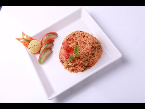 Tamatar Pulao - Tamatar Chawal - VahRehVah Hindi Recipes