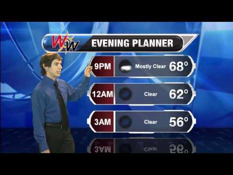 Thursday, September 18th Evening Forecast