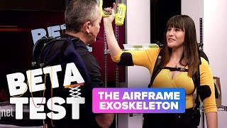 This Airframe exoskeleton makes light of hard work at CES 2019 (Beta Test) - CNETTV