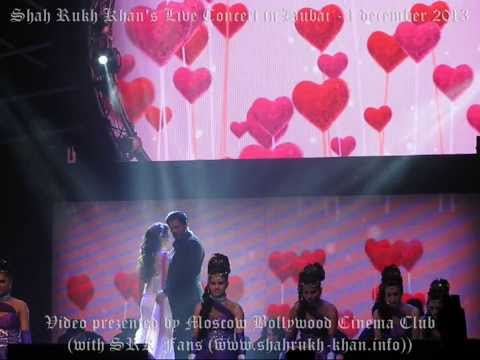 SRK Live Concert in Dubai with Madhuri, Deepika & Jacqueline - 1 december 2013 (part 3)
