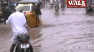 Heavy rain in the city of Hyderabad - THENEWSWALA