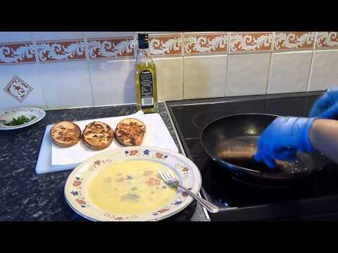 Advocaat Egg Fried Bread (French Toast) Breakfast video recipe