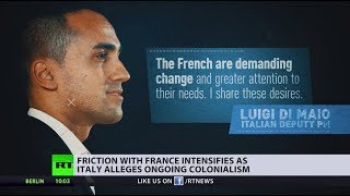 'France never stopped colonizing Africa' - Italy's deputy PM - RUSSIATODAY