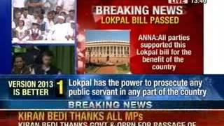 NewsX: Anna Hazare breaks his 9-day fast as Lokpal bill is passed - NEWSXLIVE