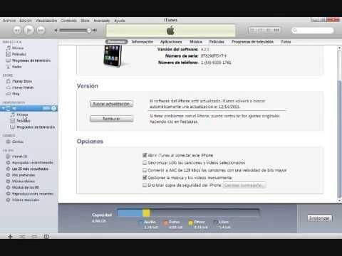 Como borrar musica de tu iphone ipod desde Itunes