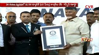 Polavaram Project Enter Guinness World Records for Concrete Pouring | CVR News - CVRNEWSOFFICIAL