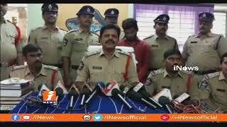 Chain Snatching Thief Taken Into Custody By Police In Nidadavolu | West Godavari | iNews - INEWS