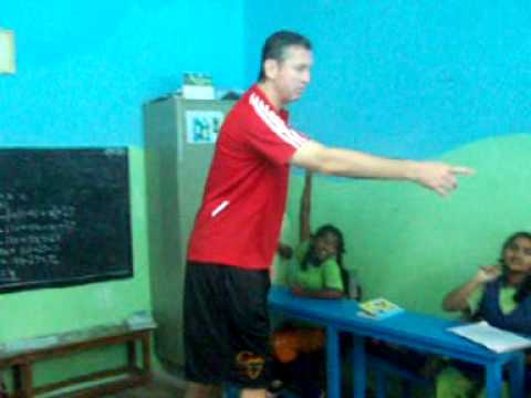 NBA Star Marty Conlon visits Parikrma Humanity Foundation.