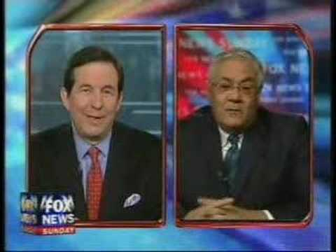 Barney Frank Versus Chris Wallace