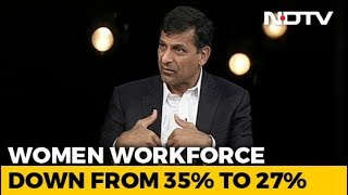 Lack Of Women Participating In Economy Worrisome: Raghuram Rajan - NDTV