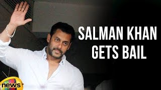 Salman Khan Gets Bail in Blackbuck Poaching Case on Bonds | Mango News - MANGONEWS
