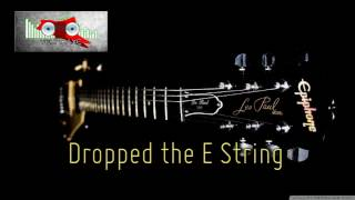 Royalty Free :Dropped the E String