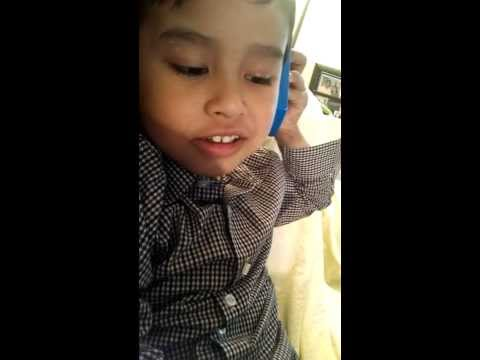 4 years old filipino boy born & grown up in canada singing a tsinito
