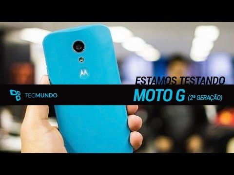 Novo Moto G (2ª geração): estamos testando - TecMundo