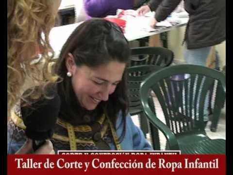 Taller de Corte y Confección de Ropa Infantil, Monitora María del Carmen Martínez Herrera 2 parte