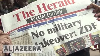 Zimbabwe crisis: Mugabe confined to home as army takes control - ALJAZEERAENGLISH