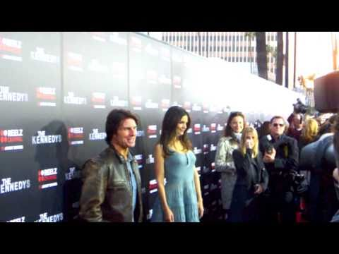 Tom Cruise & Katie Holmes at The Kennedys Movie Premiere