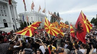 فيديو| استمرار اعتصام المعارضة المقدونية للمطالبة برحيل رئيس الحكومة