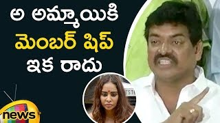 Actor Sivaji Raja Responds To Actress Sri Reddy Unclothed Protest | Mango News - MANGONEWS