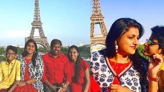 Actress Roja Selvamani Family In Paris Photos | Tollywood Updates - RAJSHRITELUGU