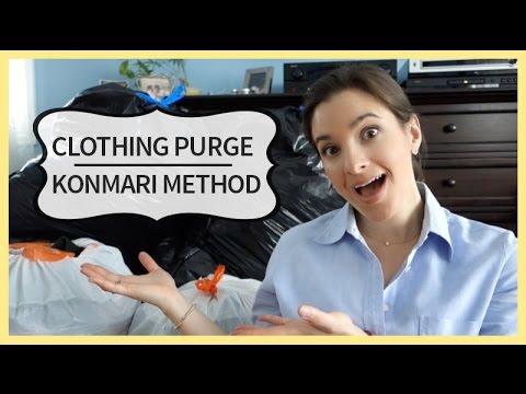 Clothing Purge | KonMari Method