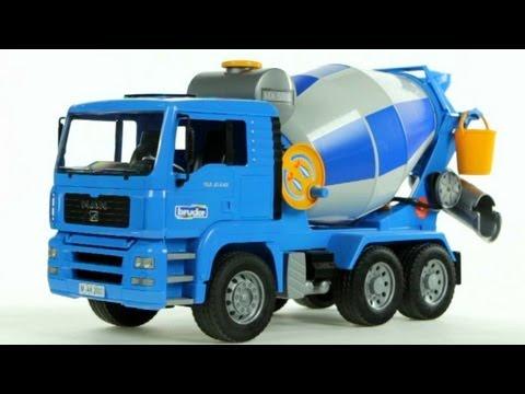 MAN Cement Mixer Truck Muffin Songs' Oyuncakları Tanıyalım