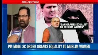 Congress welcomes SC verdict on Triple Talaq - NEWSXLIVE
