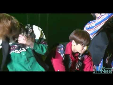 Gorgeous SHINING SHINee Sherlock @ Boyz Nite Out Concert in Singapore 120615