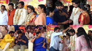 Late Kodi Ramakrishna's Daughter Pravallika engagement with CH Mahesh | Krishnam Raju | Shiranjeevi - IGTELUGU