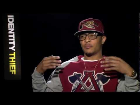 T.I. talks about playing a Hit man in Identity Thief