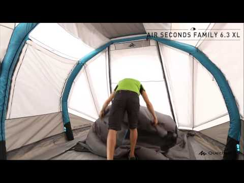 Barraca air seconds family 6 3xl quechua - Tente 4 places 2 chambres seconds family 4 2 xl ...