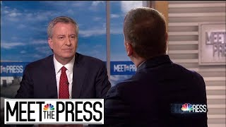 Full de Blasio: 'Amazon Just Took Their Ball And Went Home' | Meet The Press | NBC News - NBCNEWS