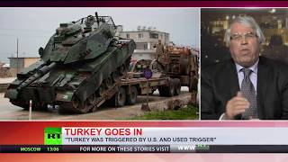 Turkey's Afrin op: Tanks cross Syrian border, ground offensive begins - RUSSIATODAY
