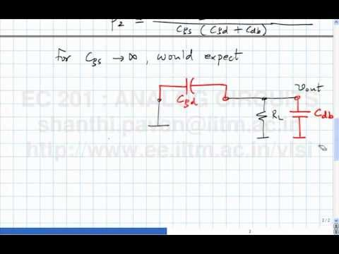 Lecture 40 - Frequency response of the CS amplifier(contd), frequency response of the CD amplifier