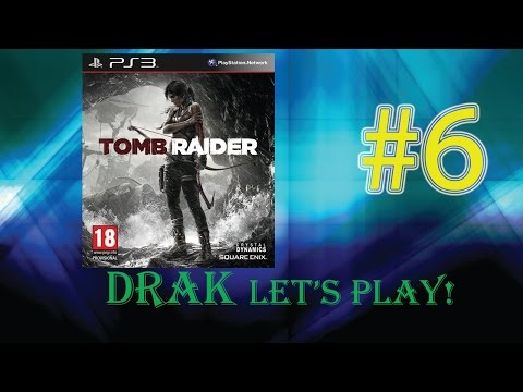 Drak Let's Play: Tomb Raider Part 6 - Wierd Talk About Retro TV Series!?!?