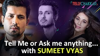 Sumeet Vyas gets chatty about TVF Trippling 2 and 'Spills the Beans' about his co-star's - TELLYCHAKKAR