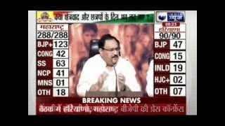Jana Gana Mana: Congress defeated by Modi effect in Maharashtra and Harayana - ITVNEWSINDIA