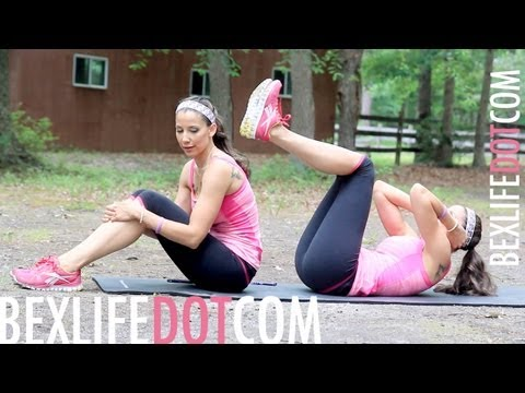 How To Lose Your LOVE HANDLES & MUFFIN TOP Workout : Work It Out Wednesday - BEXLIFE